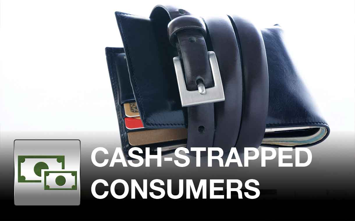 Cash-Strapped Consumers Getting Paid Faster