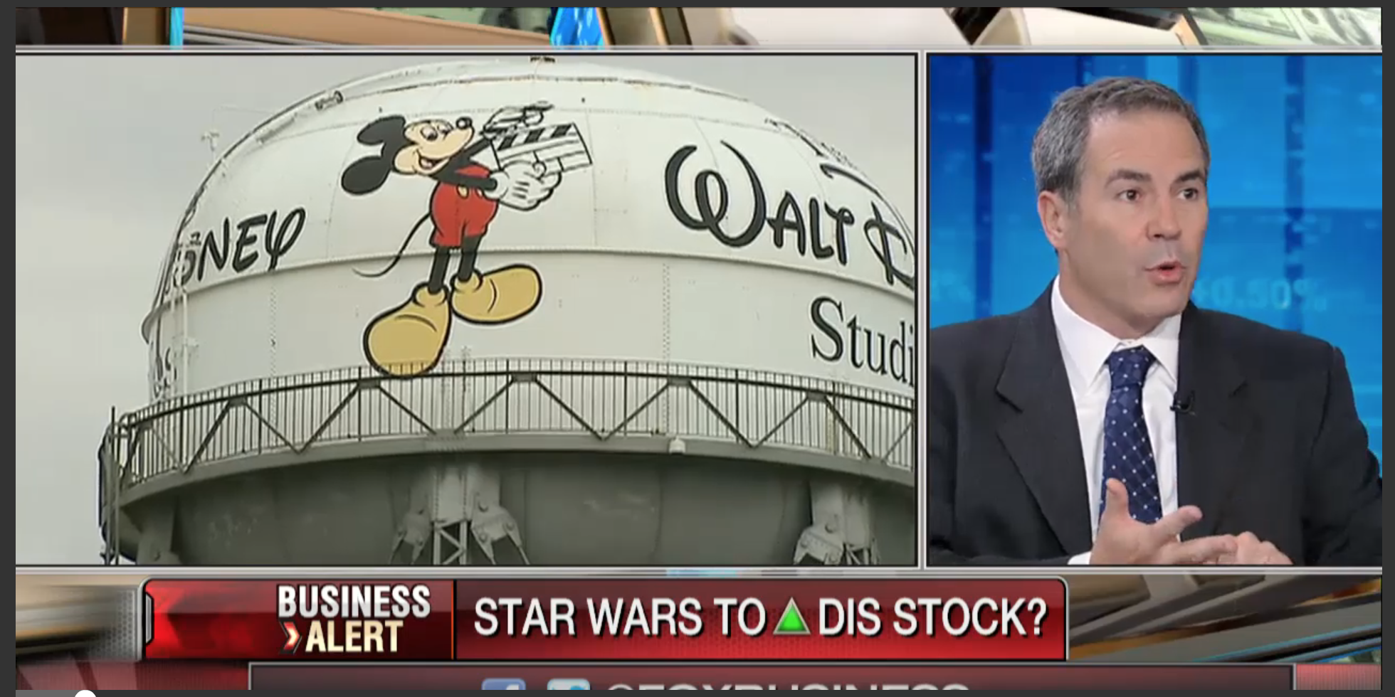 How could the new Star Wars movie impact Disney stock?