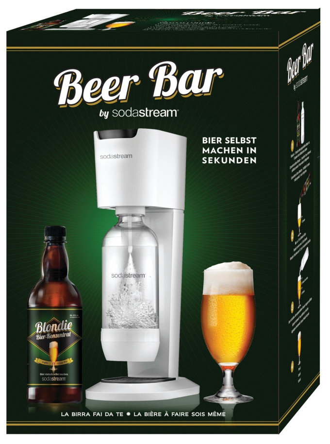 Is SodaStream Offering You To Make The Tang of Beer At Home? $SODA