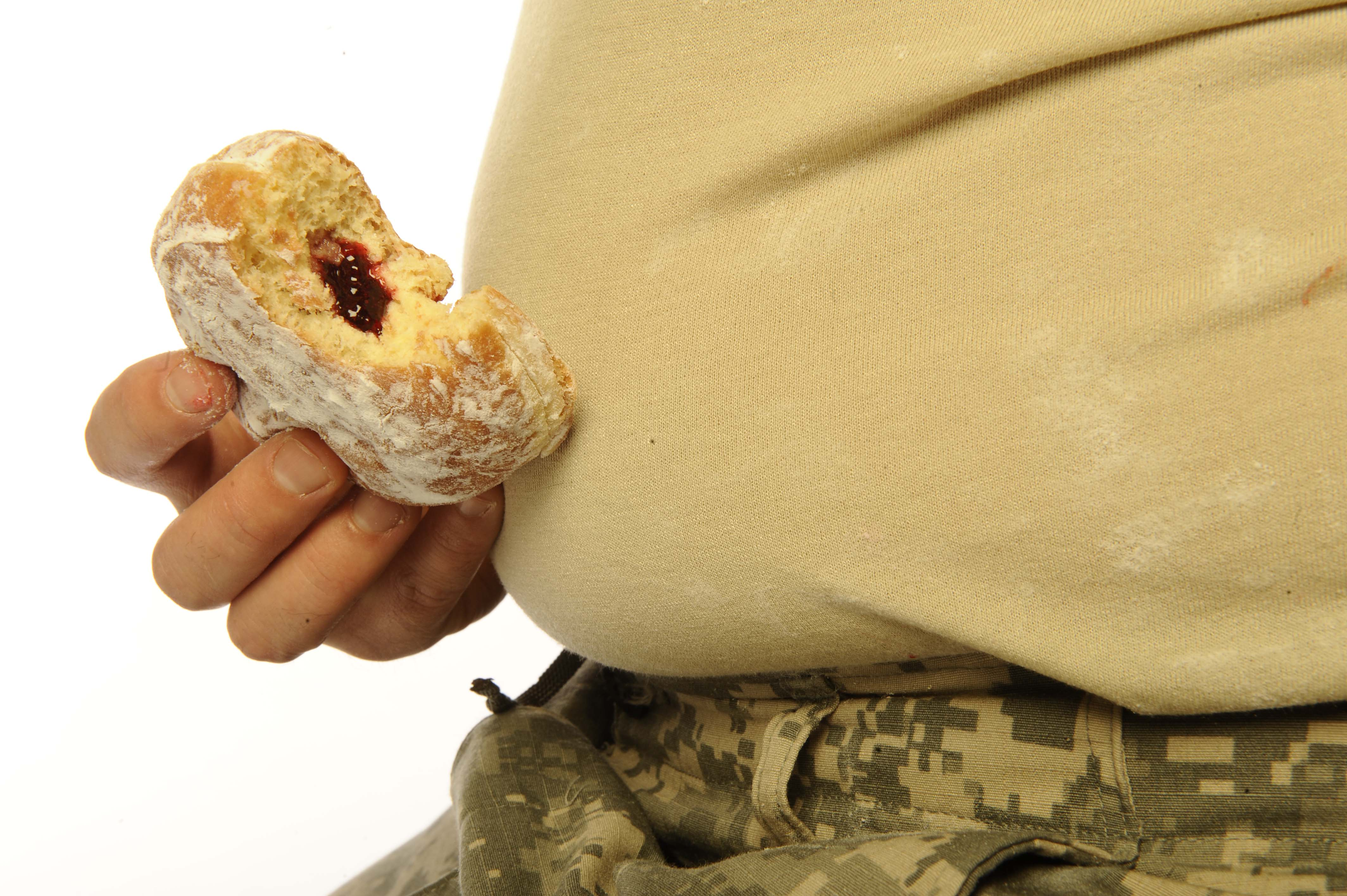 Obesity Spreading to the US Military