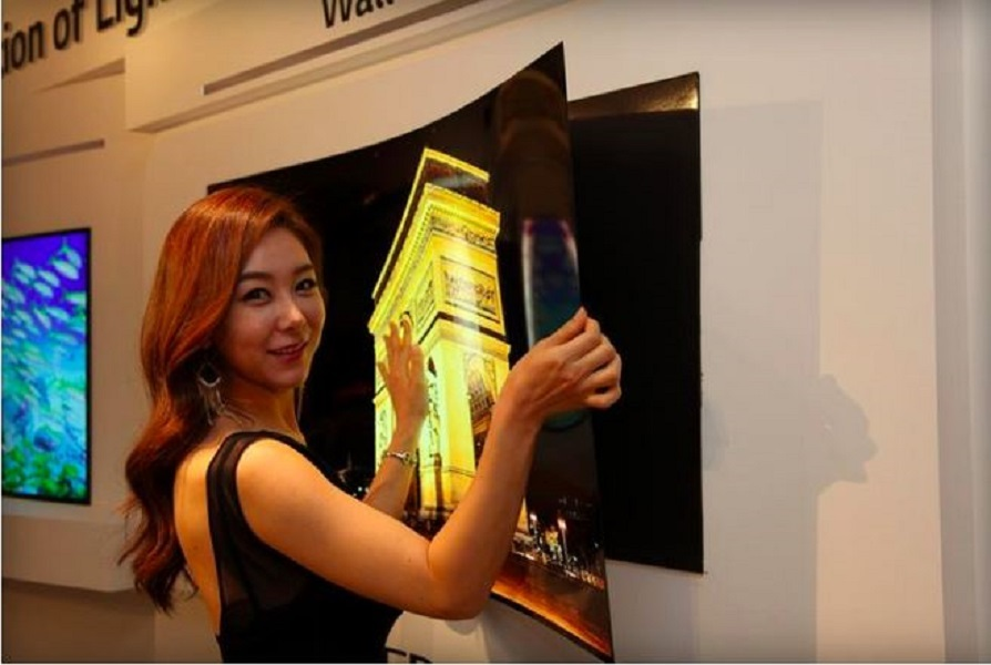 LG Wallpaper OLED TV To Spur The Next TV Upgrade Cycle?