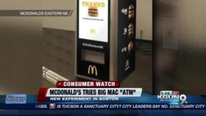 McDonald's Big Mac ATM Is No Joke As Restaurants Deal With Rising Minimum Wages