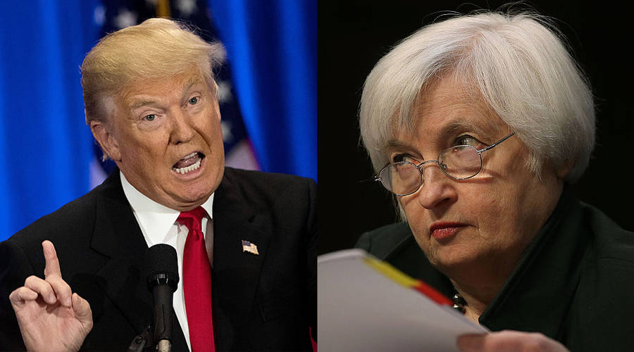 Trump on accelerator while Fed tapping the breaks