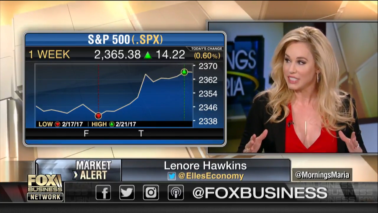 Lenore Hawkins joins the Maria Bartiromo and Bob Nardelli on Mornings with Maria to discuss if delays in tax reform could stall stocks' record streak?