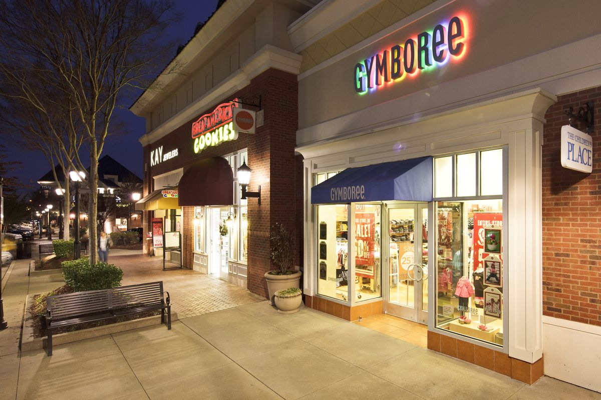 Gymboree — another mall-based retailer looking like it will bite the dust