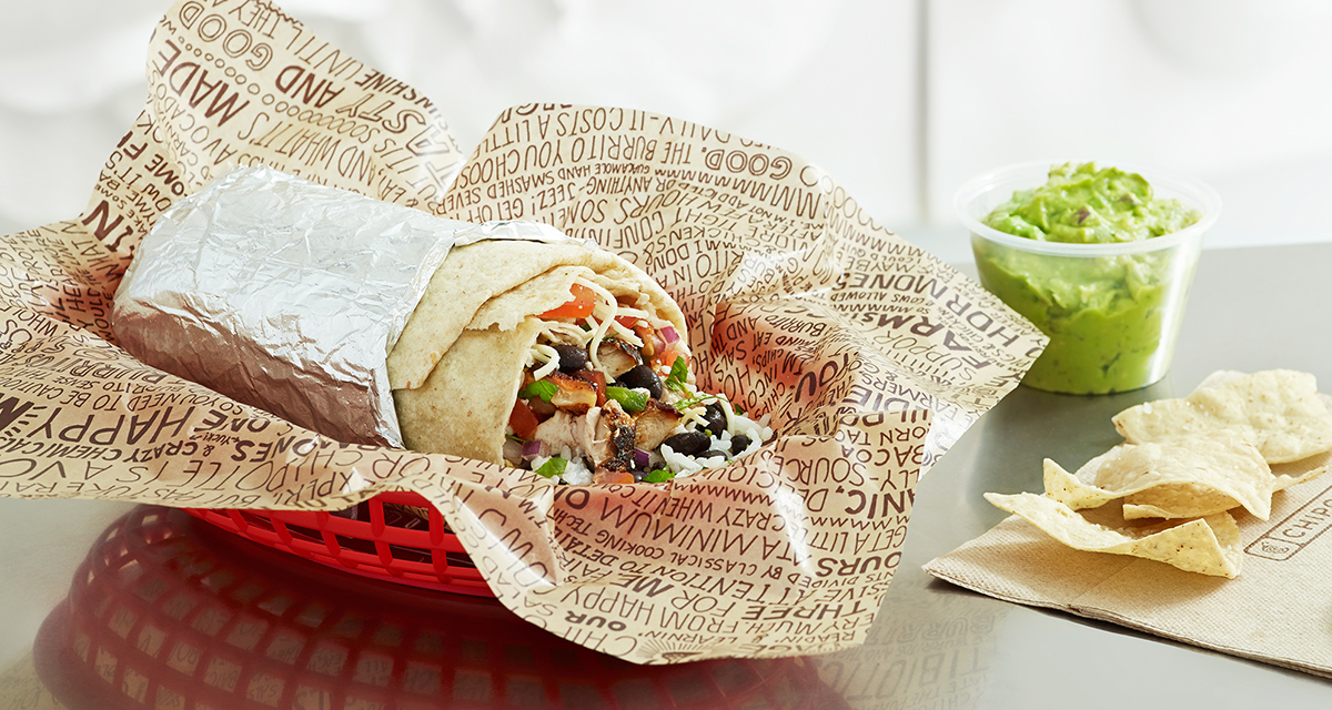 Chipotle's burritos, not an Affordable Luxury item… just wait for a few more price increases