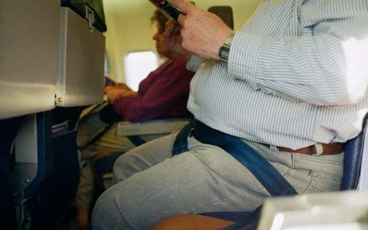 Fattening of the Population takes to the skies