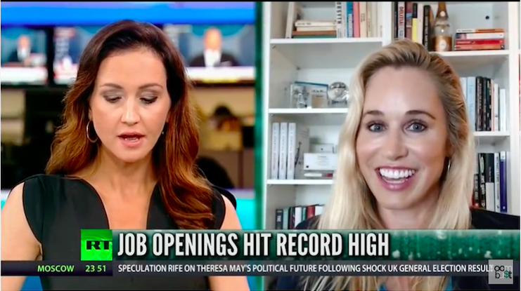 The Real Jobs Picture with Lenore Hawkins on Boom Bust