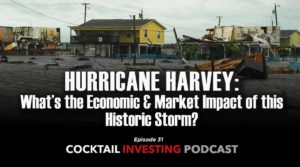 Cocktail Investing: Hurricane Harvey and its Impact on the Markets and Economy