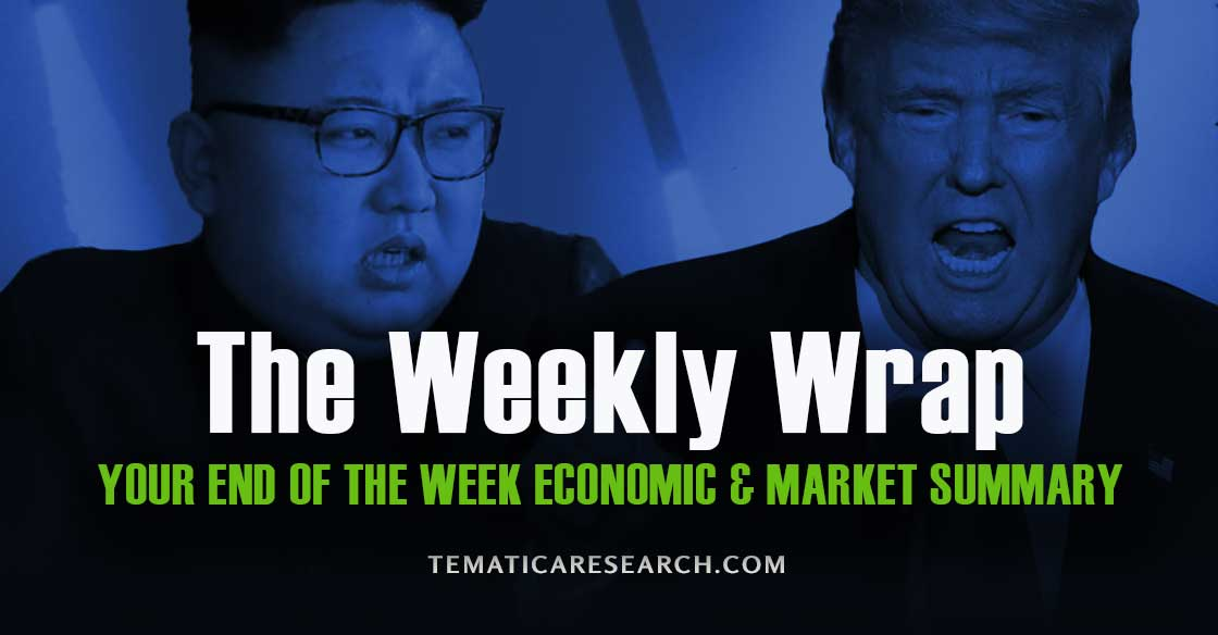 Another Week of the Market Brushing Off Uncertainty Amid Political Turbulence and Less Than Rosy Data