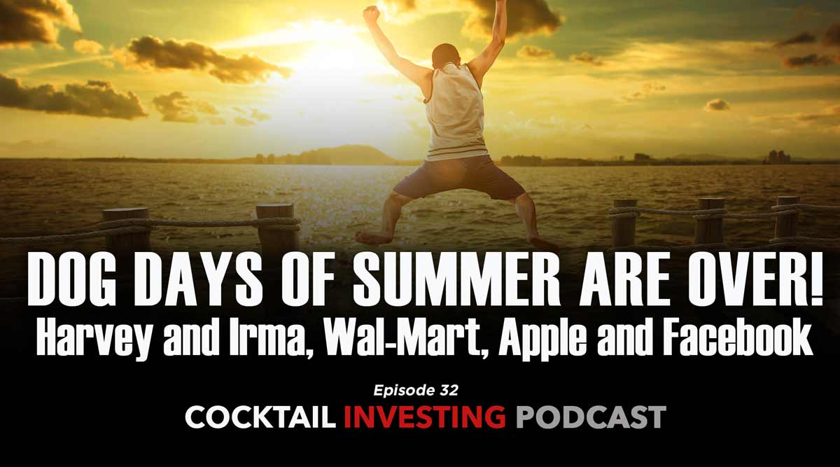 Cocktail Investing: Dog Days of Summer Come to an End