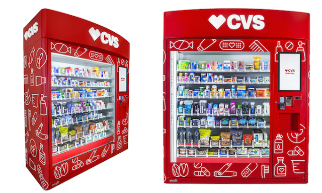 Fighting the Connected Society, CVS Health expands out of the store with CVS vending machines