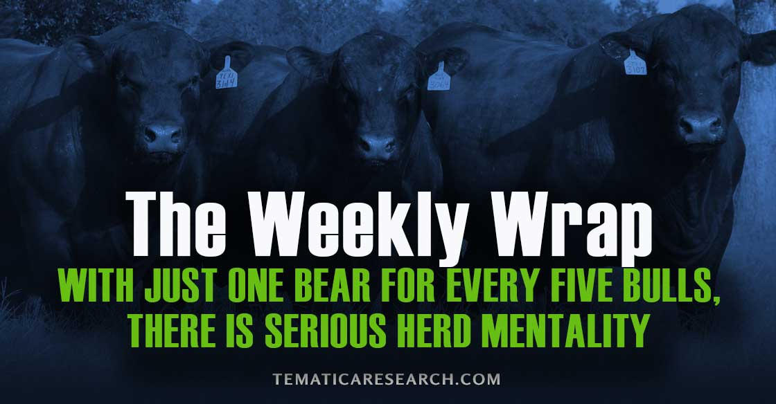 With Just One Bear For Every Five Bulls, There Is Serious Herd Mentality