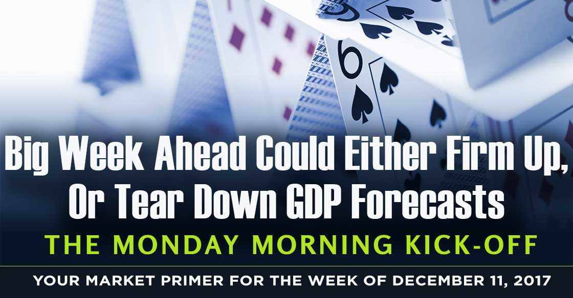 Big Week Ahead Could Either Firm Up, Or Tear Down GDP Forecasts