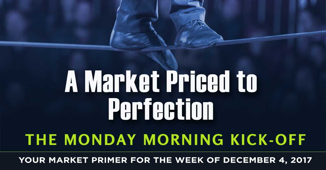 Monday Morning Kickoff: A Market Priced to Perfection