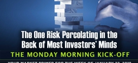 The one risk percolating in the back of investors' minds