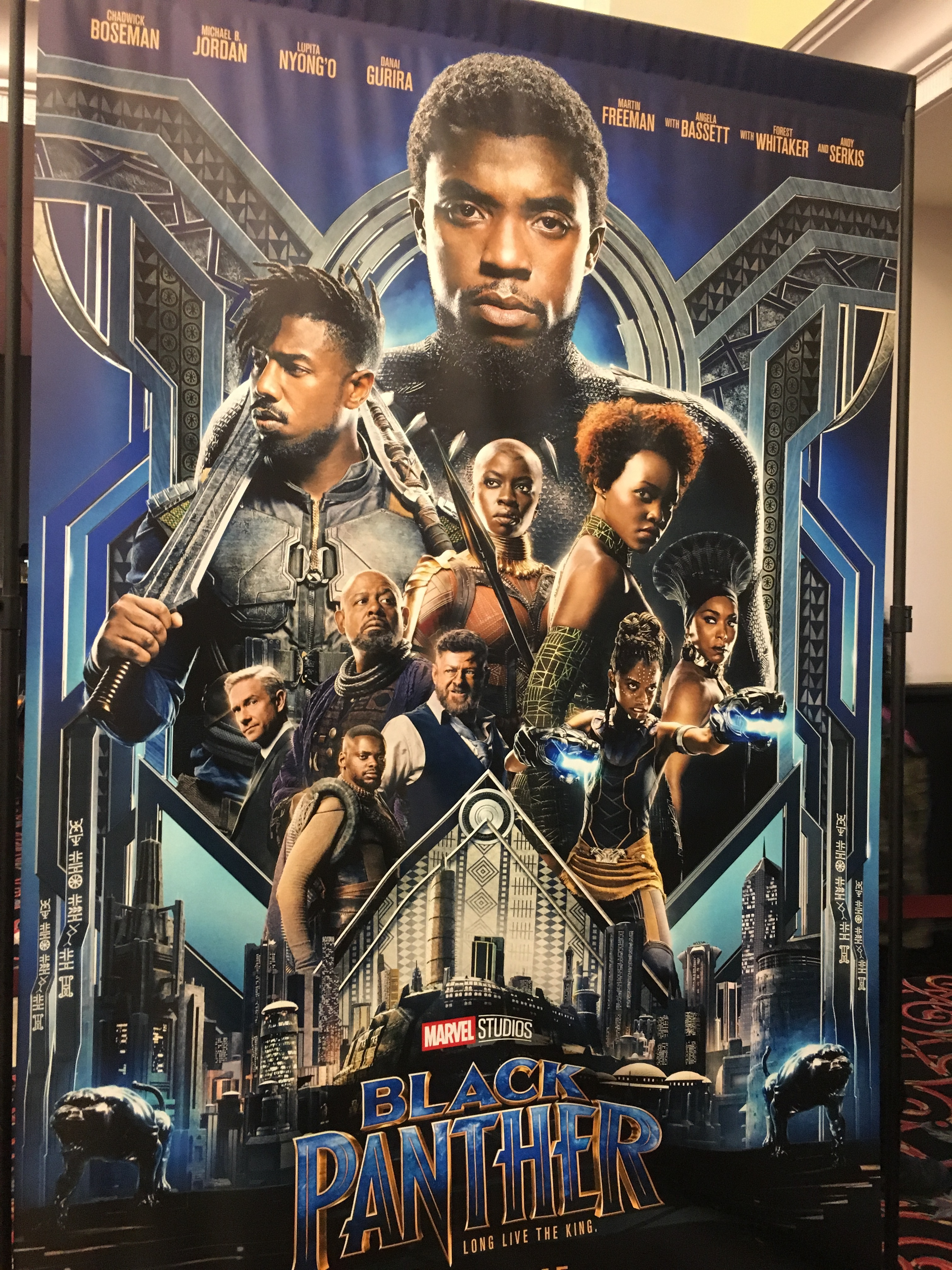 Disney's The Black Panther gets 4 of 4 paws