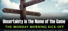 Monday Morning Kickoff: Uncertainty is the Name of the Game