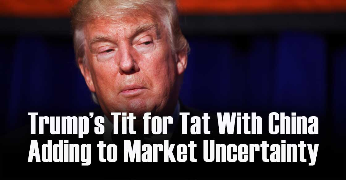 Trump's Tit for Tat With China Adding to Market Uncertainty