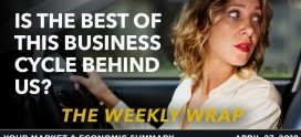WEEKLY WRAP: Is the Best of This Business Cycle Behind Us?