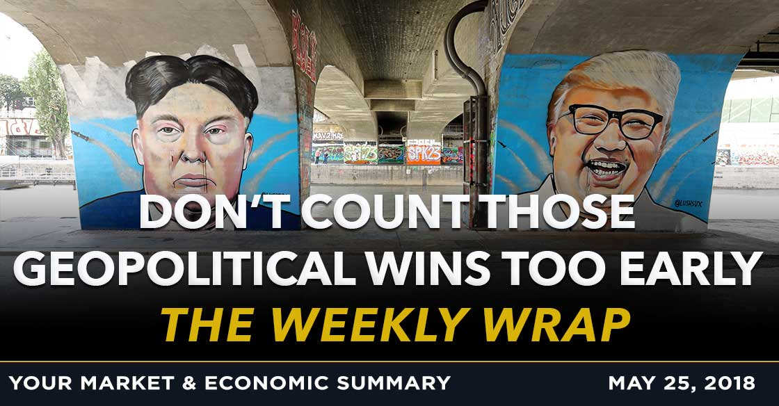 Weekly Wrap: Don't Count Those Geopolitical Wins Too Early