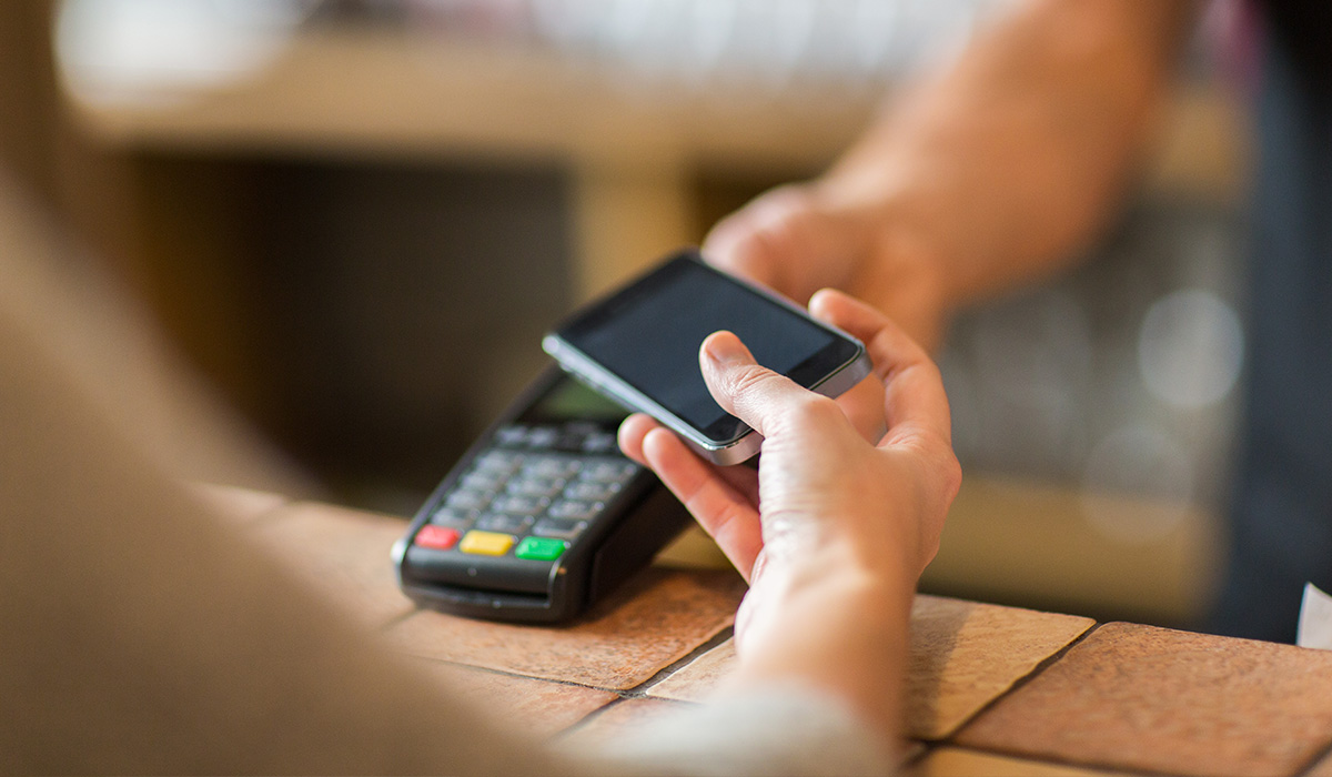 Ringing up contactless payments at the World Cup