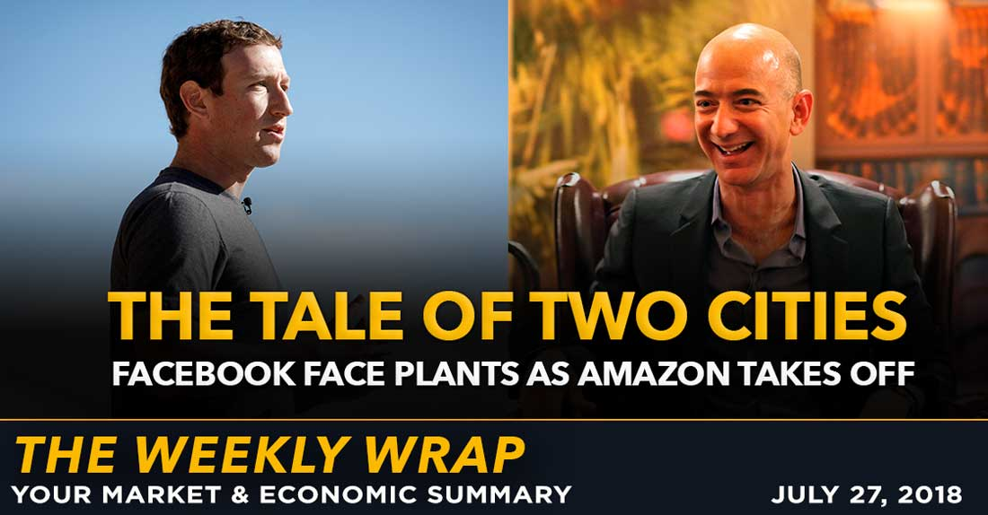 Weekly Wrap: The Tale of Two Cities between Facebook and Amazon Earnings