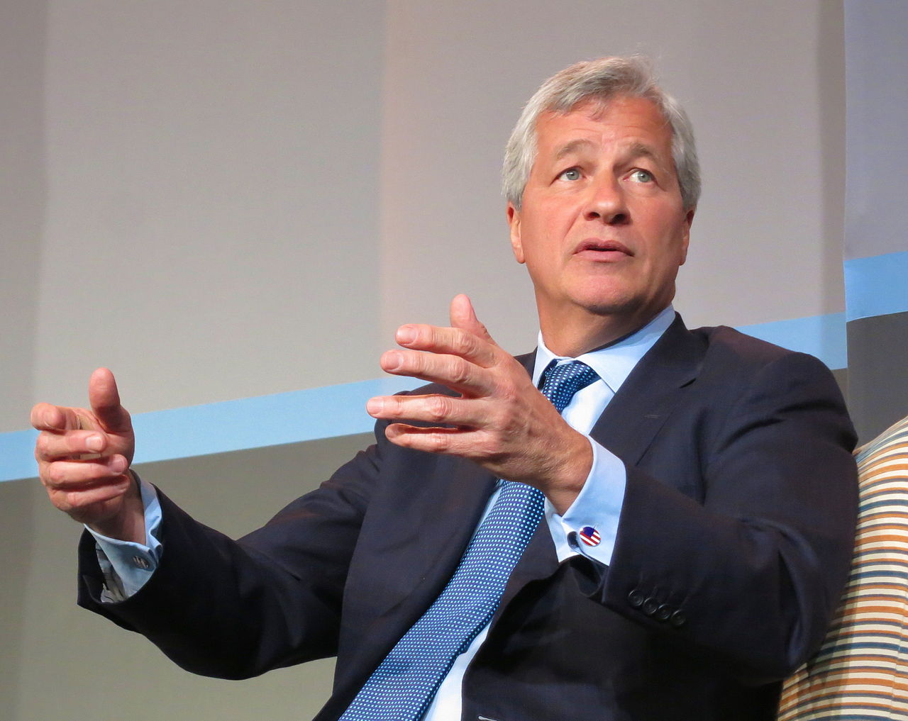 JP Morgan's Jamie Dimon says cyber is the biggest vulnerability the financial system