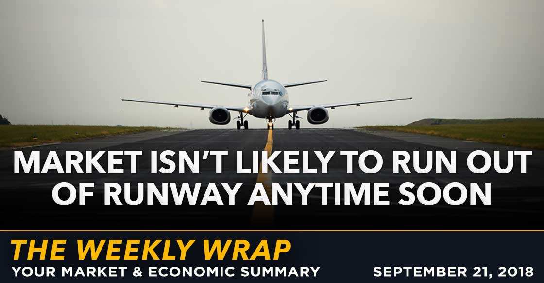 Weekly Wrap: Market Isn't Likely To Run Out Of Runway Anytime Soon