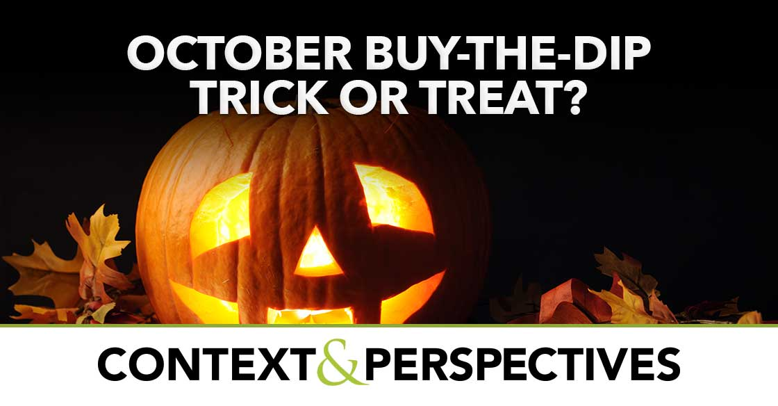 October Buy-the-Dip Trick or Treat?