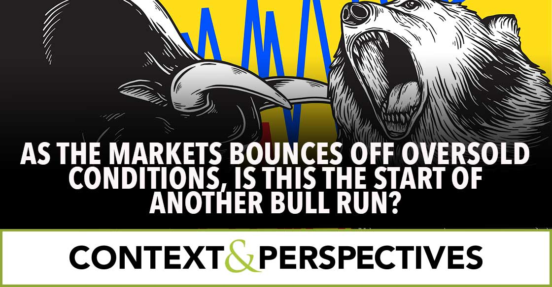 As the Market Bounces Off Oversold Conditions, Is this the start of another bull run?