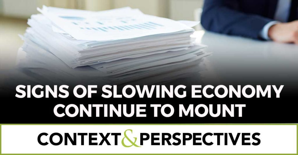 Context & Perspectives on the Market and Economy for February 15 2019 by Lenore Hawkins of Tematica Research