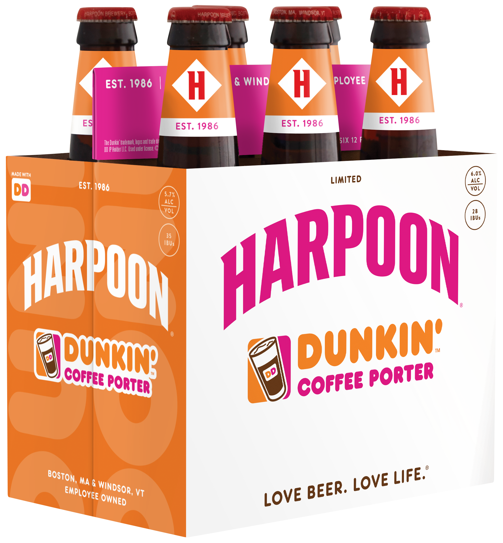 Dunkin' and Harpoon Brewery team up for a Guilty Pleasure coffee pale ale