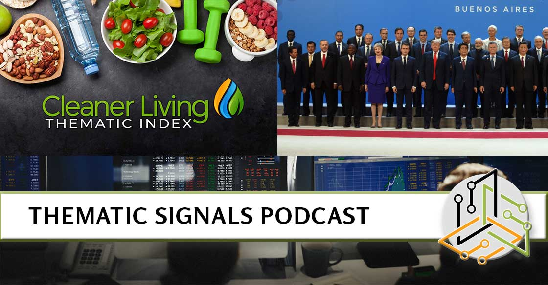 Ep 6. Bracing for the Fallout from the G20 Plus the Launch of the Cleaner Living Index