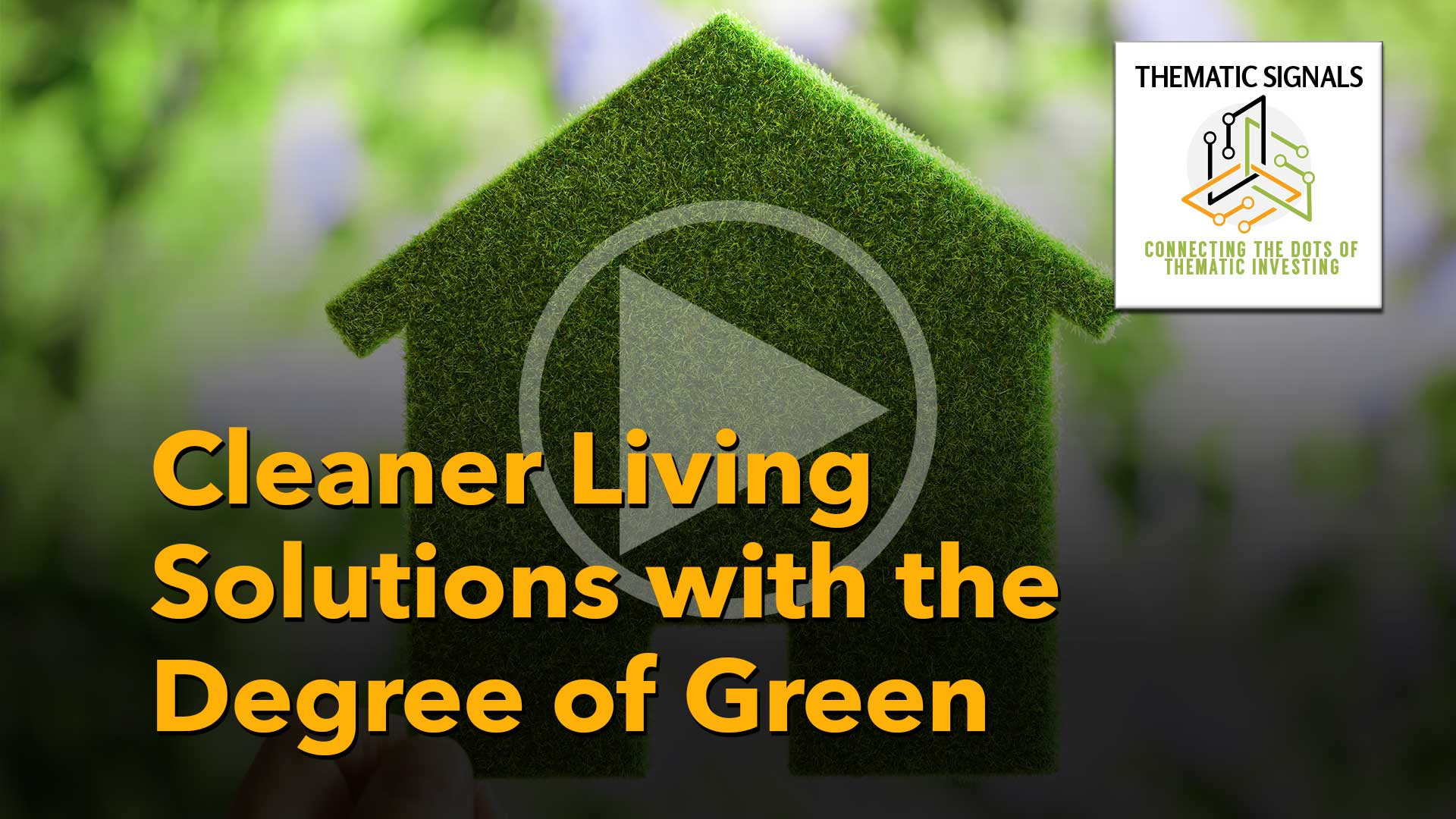 Ep 13 Cleaner Living Solutions with the Degree of Green