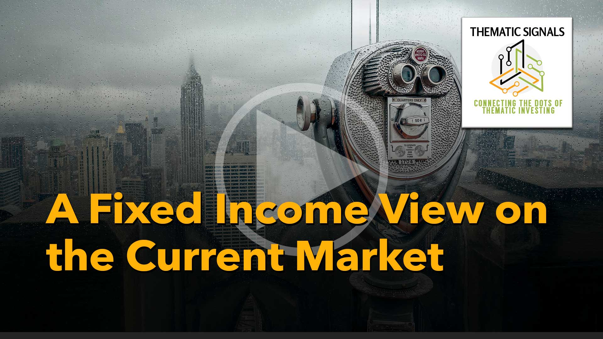 A Fixed Income View on the Current Market